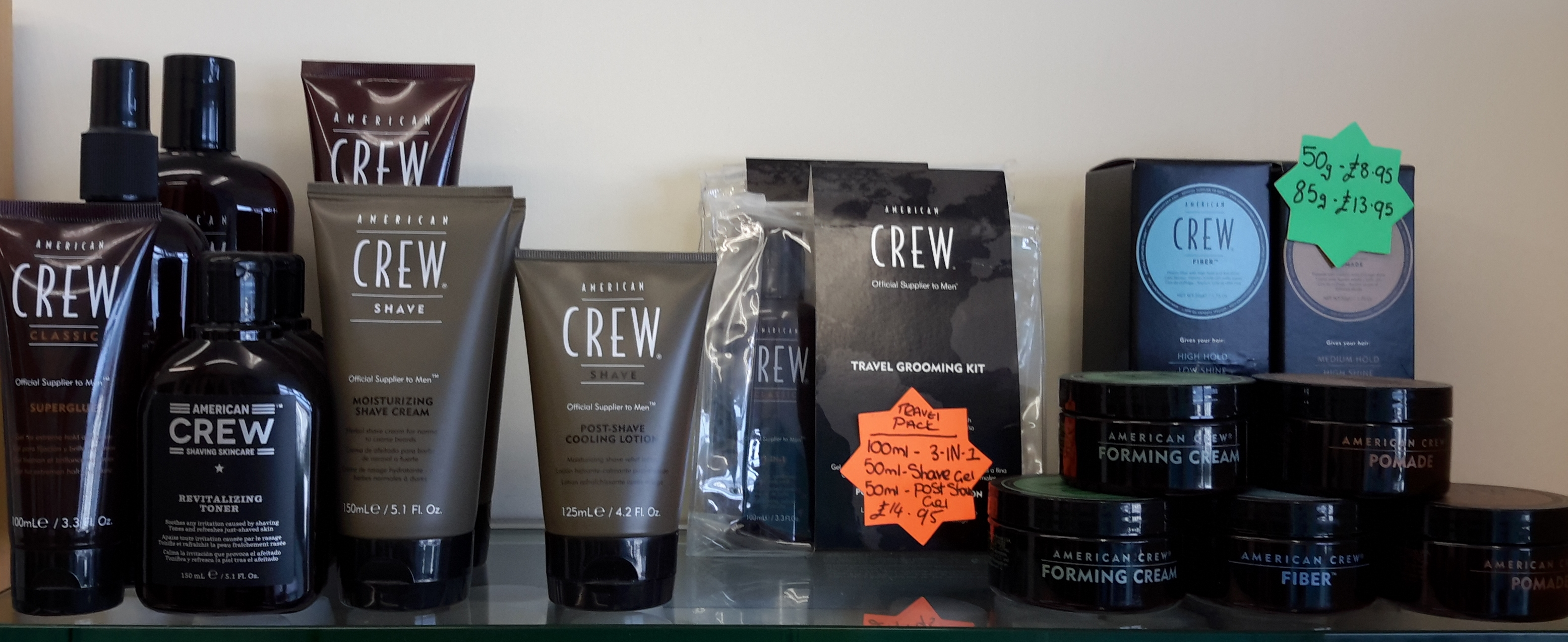 mens hair grooming products