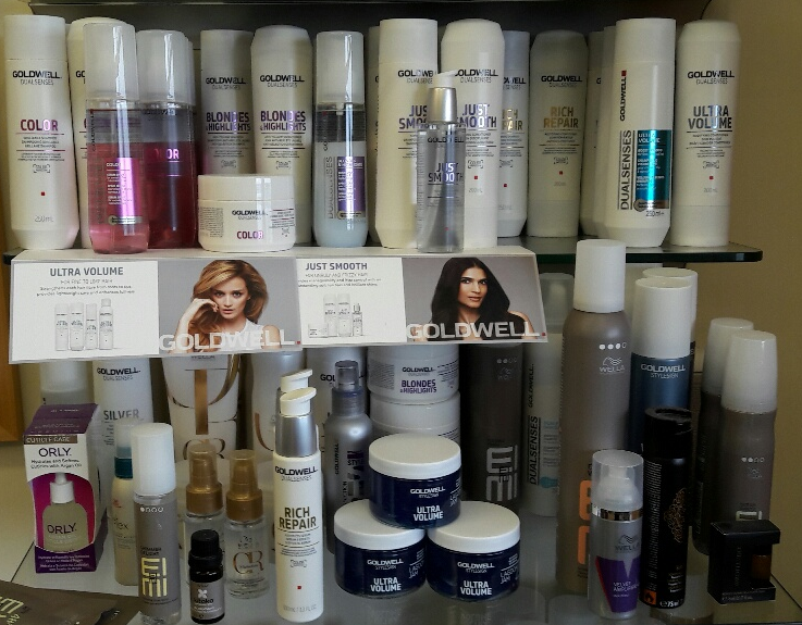 Products for beautiful healthy hair